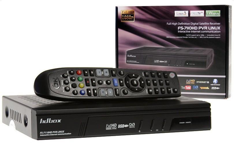 HD-BOX FS-7110 HD PVR Linux